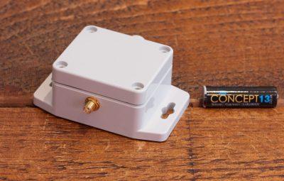 A photo of our Elsys LoRaWAN Sensor