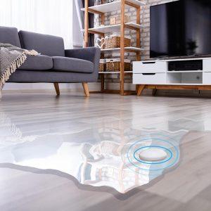 mClimate Flood Sensor on floor